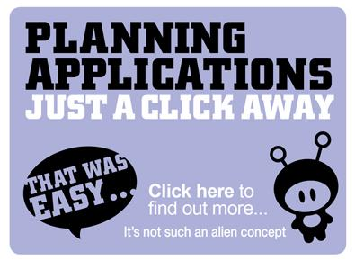 Click here to access our planning portal and search for planning applications.