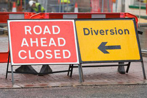 Image: Chown's Mill roadworks