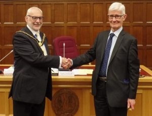 New chairman elected at East Northamptonshire Council