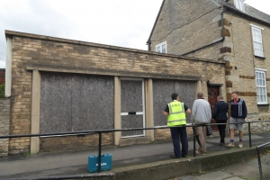 Council takes action in Higham - Before