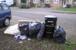 Fly tip in Rushden
